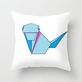 Origamonkey Throw Pillow