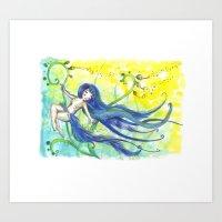 magical Pole dance  Art Print
