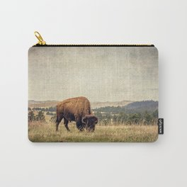 Bison Land Carry-All Pouch
