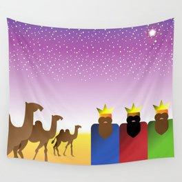 Three Kings Night Wall Tapestry