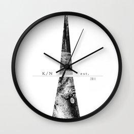 Kuro Noir tower Wall Clock