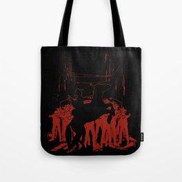 Zombie Crossing Tote Bag