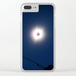 Total Eclipsy Eclipse 1 - 2017 Clear iPhone Case