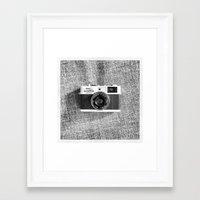 heroes of olympus Framed Art Prints featuring Olympus 35RC by Fernando Innecchi