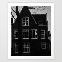 Poetic House In Amsterdam Art Print