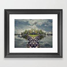 ManuIsland  Framed Art Print