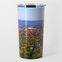 La Crosse from the bluff; Wisconsin Travel Mug