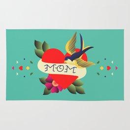 Mom Tattoo Rug