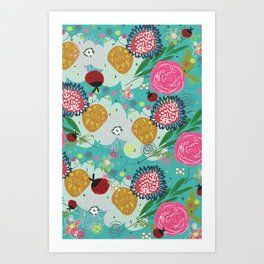 First Blooms of Spring Art Print