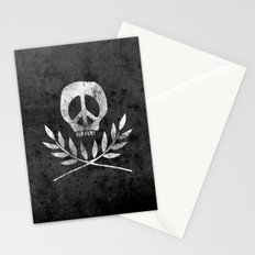 Peace is Death Stationery Cards