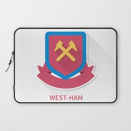 West Ham United Smooth Logo Laptop Sleeve