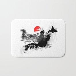 Abstract Kyoto - Japan Bath Mat