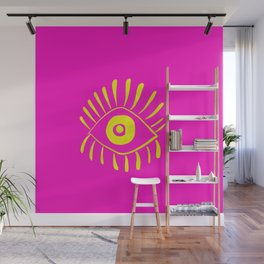 Vision Yellow Wall Mural
