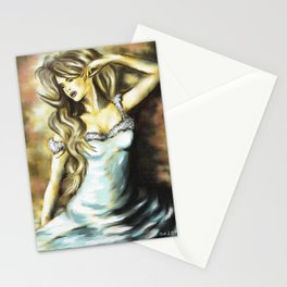 Sitting Beauty Stationery Cards