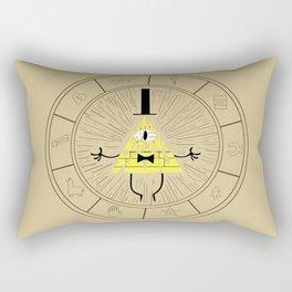 Bill Cipher summoning Rectangular Pillow