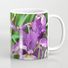 LILAC PURPLE IRIS GARDEN Coffee Mug