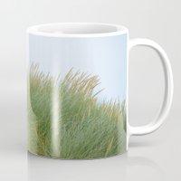 dune Mugs featuring Dune Grass by A Wandering Soul