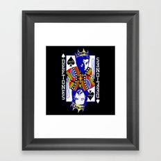 Sacto Kings (Dark Tees) Framed Art Print
