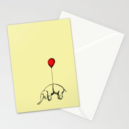 Red Elephant Stationery Cards