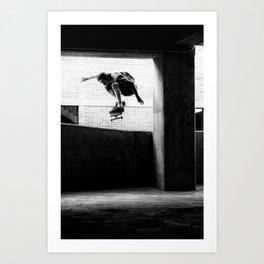 Jesse Burr- Ollie Art Print