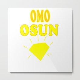 Omo Osun Metal Print