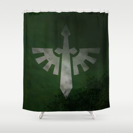 Repent! For tomorrow you die! Shower Curtain