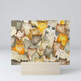 The Cat's Meow Mini Art Print