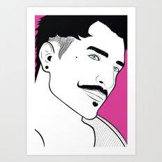 D-P Pop Art Art Print