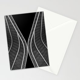 Waving roofs Stationery Cards