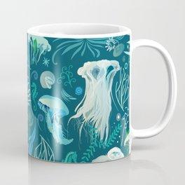 Aqua pattern Coffee Mug