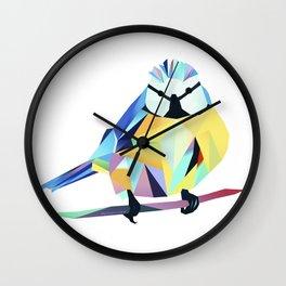 Benni Blaumeise - Benni Blue Tit Wall Clock