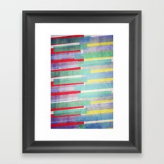 Rave Framed Art Print