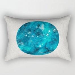 Capricorn zodiac constellation on light Rectangular Pillow