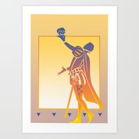 hamlet Art Prints featuring Hamlet by David Chestnutt