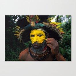 Papua New Guinea Adventure Canvas Print