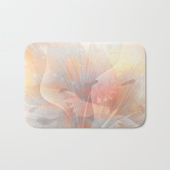 Floral Astract Bath Mat