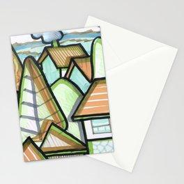 Color Landscape | Piliscsév, Hungary Stationery Cards