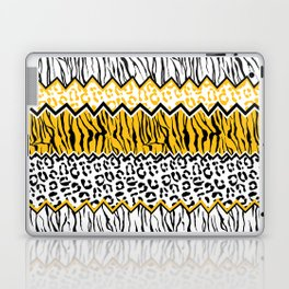wild stripes pattern Laptop & iPad Skin