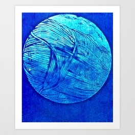 Young Hare Moon Art Print