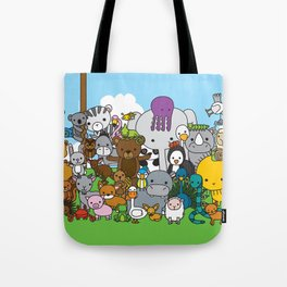 Zoe animals Tote Bag