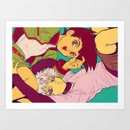 HxH Art Print