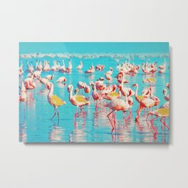 Flamboyance #society6 #decor #buyart Metal Print