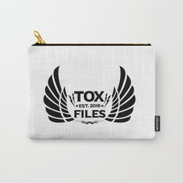 Tox Files - Black on White Carry-All Pouch