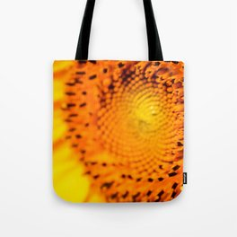 In your face yellow Tote Bag