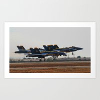 aviation Art Prints featuring Aviation Photography by Suzanne Gallagher