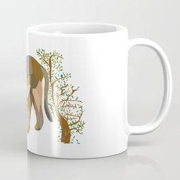Mountain Lion in Desert Coffee Mug