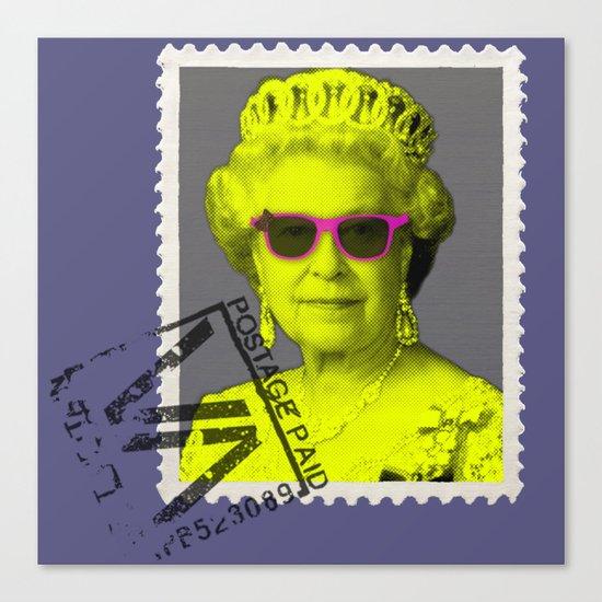 Pop Queen Canvas Print