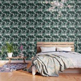 Philo Hope - Tropical Jungle Leaves Pattern #6 #tropical #decor #art #society6 Wallpaper