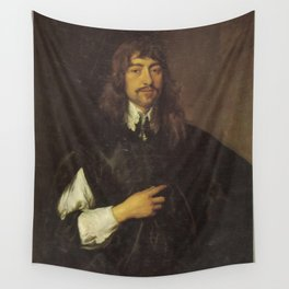 Anthony van Dyck - Portrait of Sir Walter Pye (1610-1659), or Henry Frederick Howard, 25th Earl of A Wall Tapestry