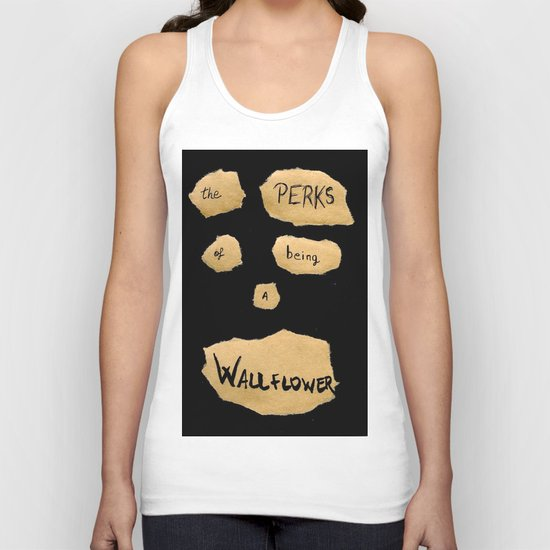 THE PERKS OF BEING A WALLFLOWER  Unisex Tank Top